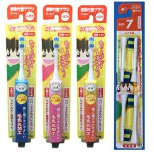 要出典 子供 歯ブラシ ミニマム 電動付歯ブラシ こどもハピカ