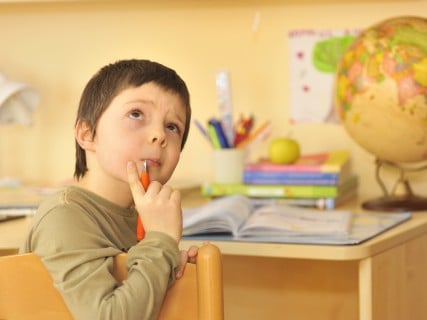 子供 机 少年 勉強 考える 悩み はてな 疑問