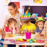 幼稚園 保育園 工作 先生 子供 園児 お絵かき