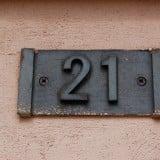 数字 21 二十一