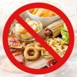 食事 禁止 NG ファストフード