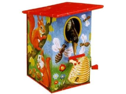 要出典 ブリキ おもちゃ ゴールドン社 バーディー貯金箱