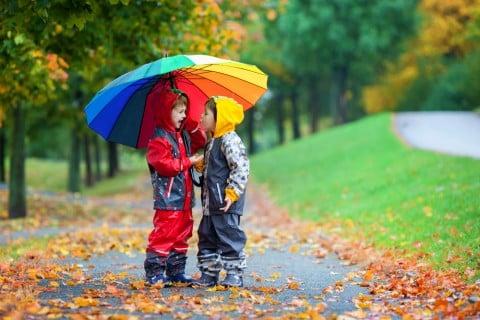 子供 雨の日 傘 レインコート レインブーツ レインスーツ