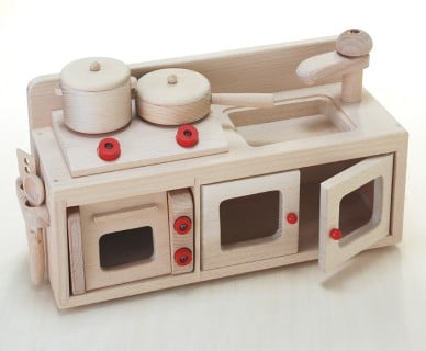 要出典 木製 おもちゃ 木製おもちゃのだいわ ミニキッチンセット