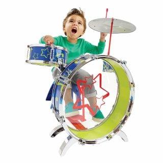 要出典 太鼓 おもちゃ ファンイヤーズ SING&PLAY はじめてのドラムセット