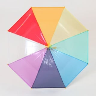 要出典 子供 傘 リーベン レインボー キッズ手開き傘