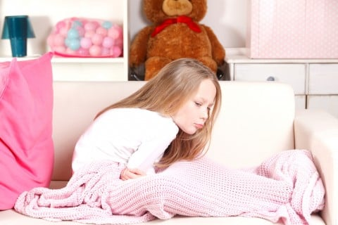 子供 女の子 腹痛 胃痛