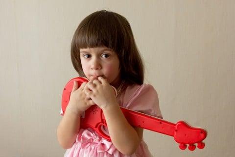 女の子 ギター おもちゃ 音楽 遊び
