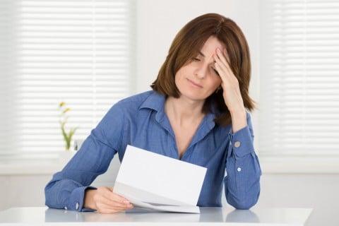 女性 残念 通知 がっかり 手紙