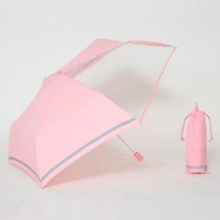 要出典 子供 折りたたみ傘 リーベン 前が見えるミニ傘 子供用