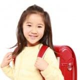 女の子 子供 ランドセル 笑顔
