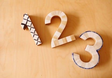 数字 1・2・3 ステップ
