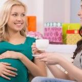 妊婦 お茶 会話