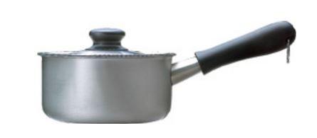 要出典 離乳食 鍋 柳宗理 ミルクパン 蓋付き ミラー