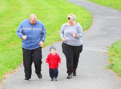 家族 家庭 肥満 運動 ダイエット
