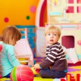 子供 2人 男の子 保育園