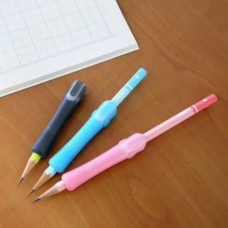 要出典 鉛筆ホルダー 鉛筆キャップ トンボ鉛筆 クリップグリップ45