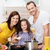 3人家族 料理