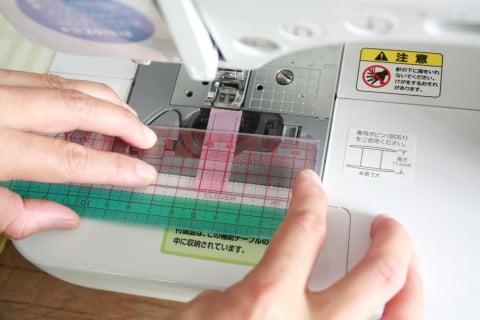 コップ袋 コップ入れ 作り方 ミシン マスキングテープ コツ