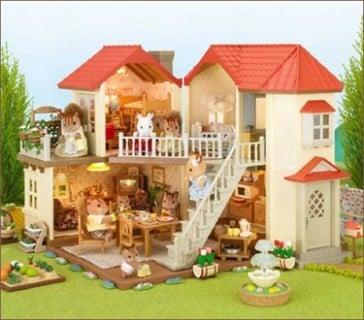 要出典 4歳 誕生日 女の子 エポック社 シルバニアファミリー あかりの灯る大きなお家