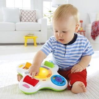 要出典 フィッシャープライス おもちゃ カラフルライト&サウンド! 指遊びスイッチセンター
