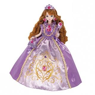 要出典 6歳 女の子 誕生日 タカラトミー リカちゃん ゆめみるお姫さま ローズアメジストマリアちゃん