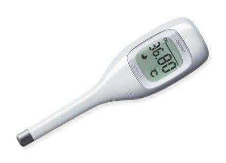 要出典 基礎体温計 オムロン 婦人体温計 けんおんくん MC-672L