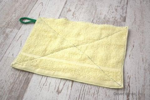 雑巾 作り方 完成