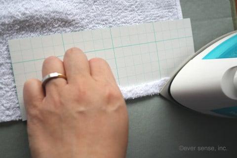雑巾 作り方 アイロン