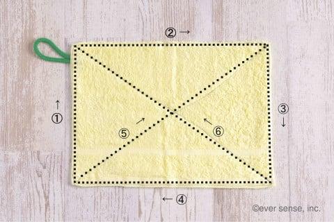 雑巾 手作り 縫い順