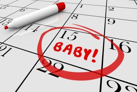 出産予定日の計算方法とは?逆算...