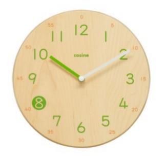 要出典 子供部屋 時計 コサイン 子ども時計