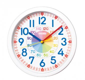 要出典 子供部屋 時計 セイコー 知育時計