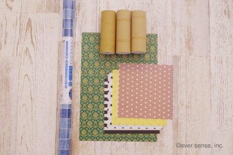 トイレットペーパー 芯 工作 お家 材料 道具