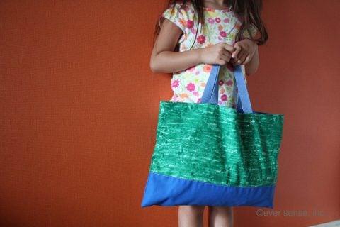 保育園 幼稚園 小学校 通園バッグ 作り方 サイズ感
