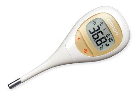 要出典 赤ちゃん 体温計 オムロン ヘルスケア 電子体温計 けんおんくん MC682