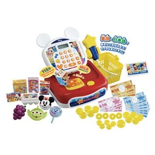 要出典 レジスター おもちゃ タカラトミー ディズニーマジカルマート 英語と日本語!スキャンでおしゃべり ドリームレジスター