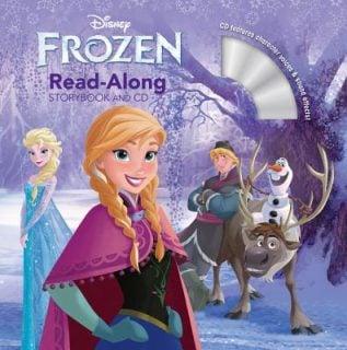 要出典 英語 絵本 Frozen Read-Along Storybook and CD