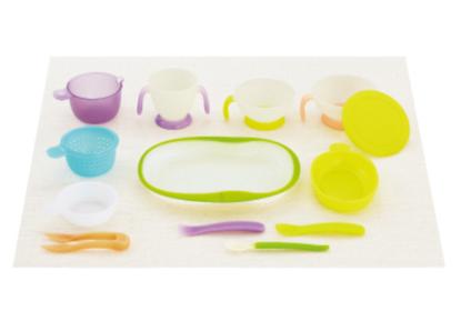 要出典 離乳食 ベビー 食器 セット コンビ ベビーレーベル ナビゲート 食器セット