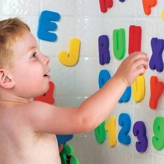 要出典 お風呂 おもちゃ マンチキン レター&ナンバー アルファベットと数字のお勉強