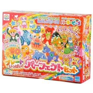 要出典 5歳 女の子 誕生日プレゼント カワダ パーラービーズ プレートいっぱいパーフェクトセット