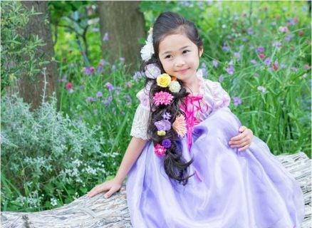要出典 5歳 女の子 誕生日プレゼント リトルプリンセスルーム ディズニープリンセスドレス ラプンツェル