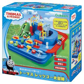 要出典 3歳 男の子 誕生日プレゼント 学研 トーマス レッツゴー大冒険!