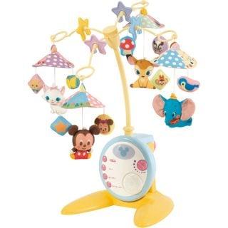要出典 ベッドメリー 赤ちゃん 人気 おすすめ タカラトミー ディズニー やわらかガラガラメリーデラックス プラス