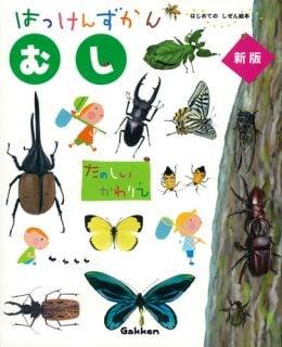 要出典 昆虫図鑑 はっけんずかん むし(はじめてのしぜん絵本)
