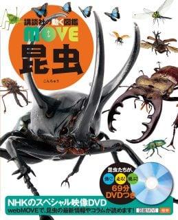 要出典 昆虫図鑑 DVD付 昆虫(講談社の動く図鑑MOVE)