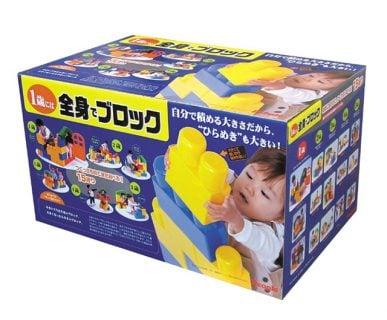 要出典 1歳 男の子 誕生日 ピープル 1歳には全身でブロック