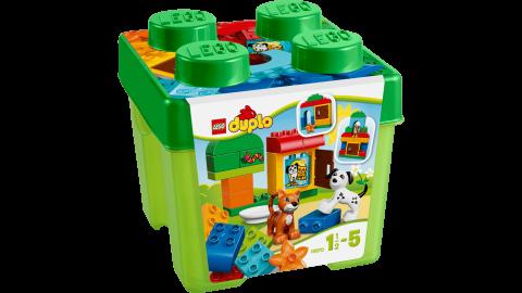 要出典 1歳 男の子 誕生日 レゴ デュプロ みどりのコンテナ 10570