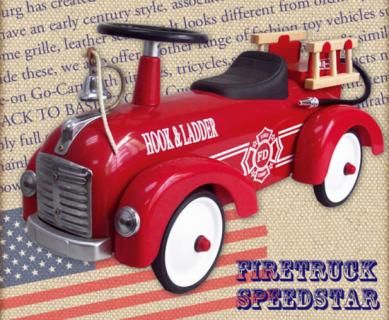 要出典 1歳 男の子 誕生日 プレゼント アルタバーグ ファイアートラック・スピードスター レッド
