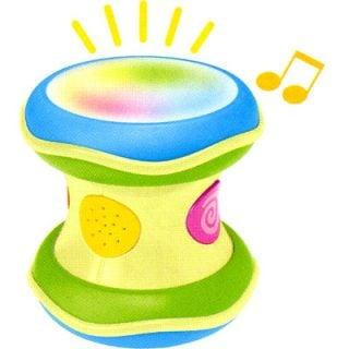 要出典 1歳 男の子 誕生日 コンビ 光るにぎやかドラム